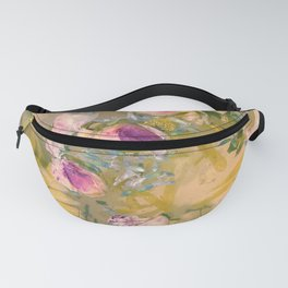 Light and Muse | Dreamy Floral Watercolor no. 1 Fanny Pack