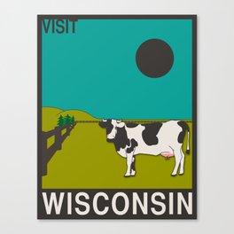 Visit Wisconsin Canvas Print