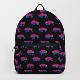 Bi Pride Bison Backpack