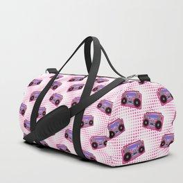 Boombox / Pink Duffle Bag