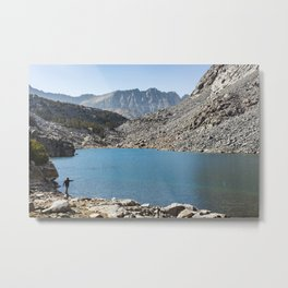 High Country Cast Metal Print