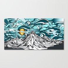 Turquoise Sky Canvas Print