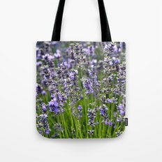 BLUE FIELD of LAVENDER Tote Bag