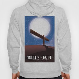 Angel of the North Full Moon Hoody