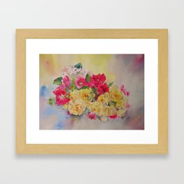 GARDEN'S DELIGHT Framed Art Print
