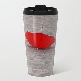 Lost red Umbrella Travel Mug