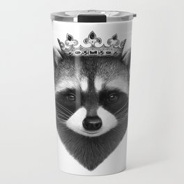 King raccoon Travel Mug