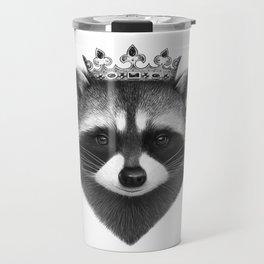 King raccoon Travel Mug
