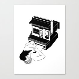 Instant Love Canvas Print