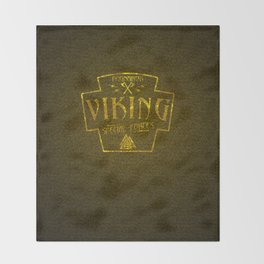 Viking Ragnarok Special Forces Throw Blanket