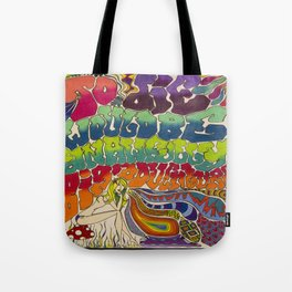 The Art of Flying Tote Bag