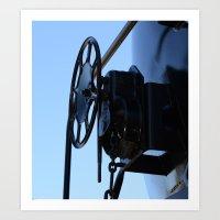 Turn The Wheel Art Print