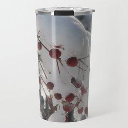 Snow Berries Travel Mug