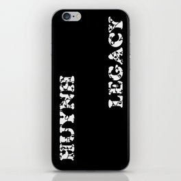 Huynh Legacy Scattered Leaves (Inverted) iPhone Skin