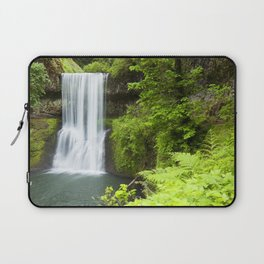 Lower South Falls, Silver Falls State Park, Oregon, USA Laptop Sleeve