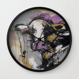 New Breed Cow 1 Wall Clock