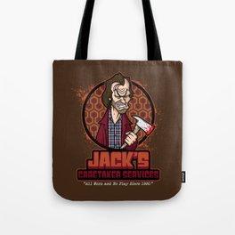 Jack's Caretaker Services Tote Bag