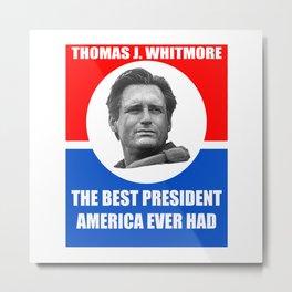 Thomas J. Whitmore #2 Metal Print