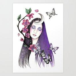 Blossomtime Art Print