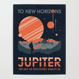 To New Horizons Poster