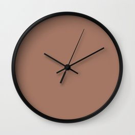 Mocha Mousse Wall Clock