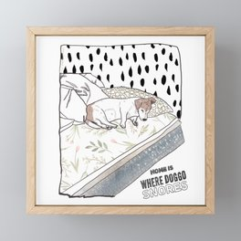 Home is Framed Mini Art Print
