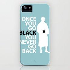 Black Coffee iPhone (5, 5s) Slim Case