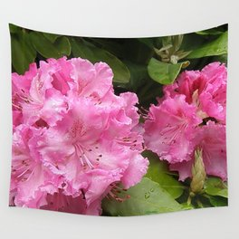Rhododendron After Rain Wall Tapestry