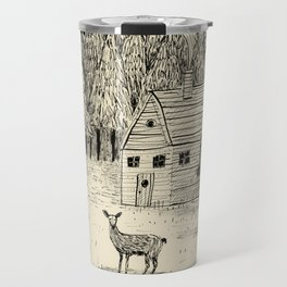 'In The Clearing' Travel Mug