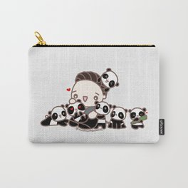 Seb and pandas Carry-All Pouch