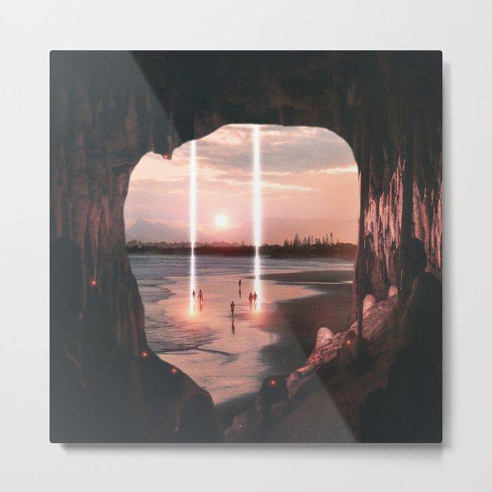 Escape through the light II Metal Print