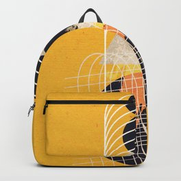 Abstract geometric art Backpack