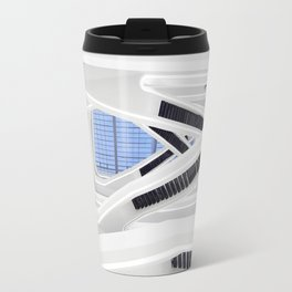 Zaha H A D I D | architect | Dominion Office Building Travel Mug
