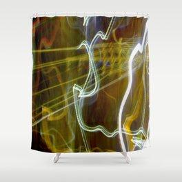 Dancing Energy (Kundalini Power) Shower Curtain