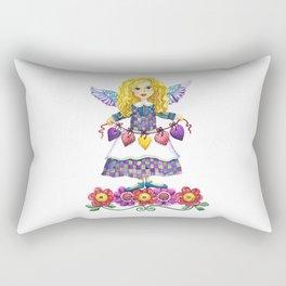 Angel Love Rectangular Pillow
