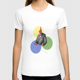 Abstract Collage T-shirt
