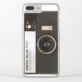 Instamatic Camera Clear iPhone Case