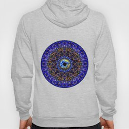 Orange Eye Of Power Hoody