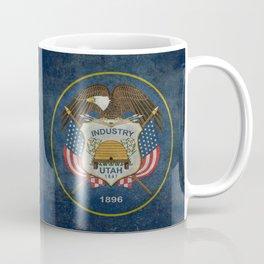 Utah State Flag, vintage retro style Coffee Mug