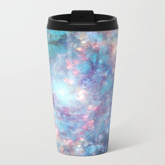 Abstract Galaxies 2 Metal Travel Mug