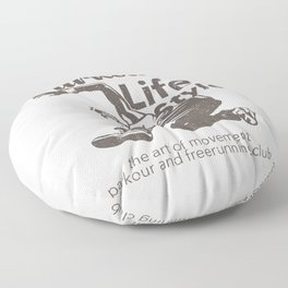 Parkour Life Style Floor Pillow