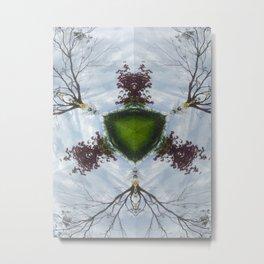 Tree Shield Metal Print