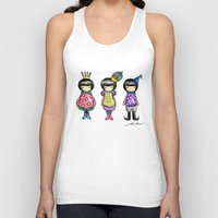 girly Tank Tops featuring Girly by Ho Man Law