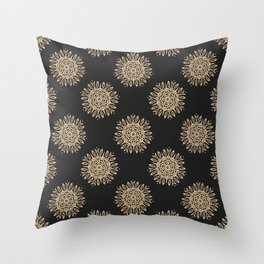 Abstract vintage pattern 3 Throw Pillow