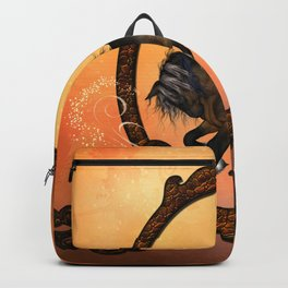 Horse in a frame Backpack