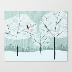 Lace Trees Canvas Print
