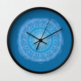 VISHUDDA Boho mandala Wall Clock