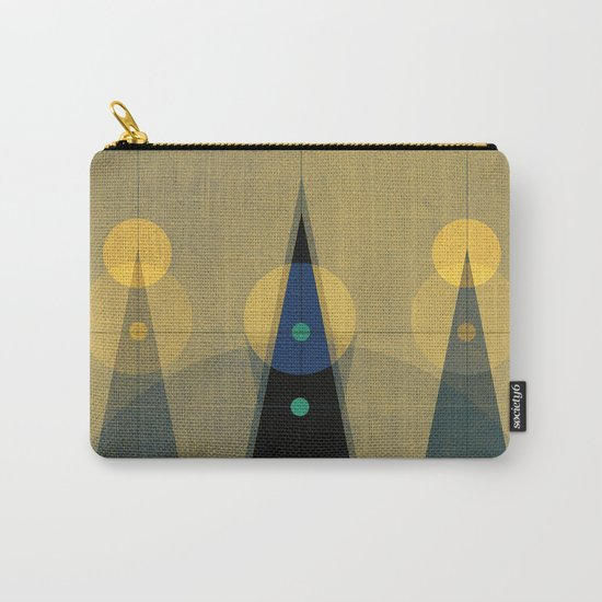 Geometric/Abstract 18 Carry-All Pouch