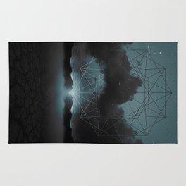 Beyond the Fog Lies Clarity | Midnight Rug