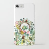 new year iPhone & iPod Cases featuring NEW YEAR by Burcu Korkmazyurek